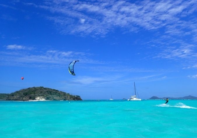 kite surf tobago cays